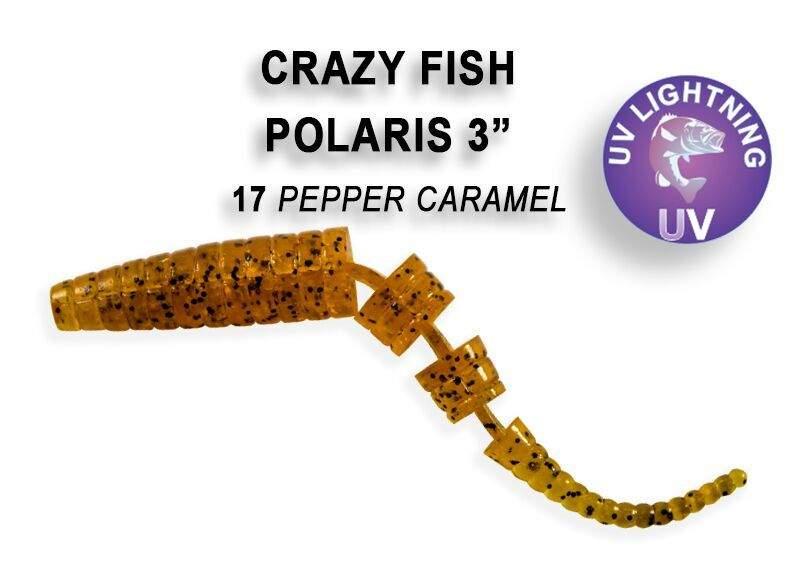 Polaris 6,8cm 17 caramel and pepper
