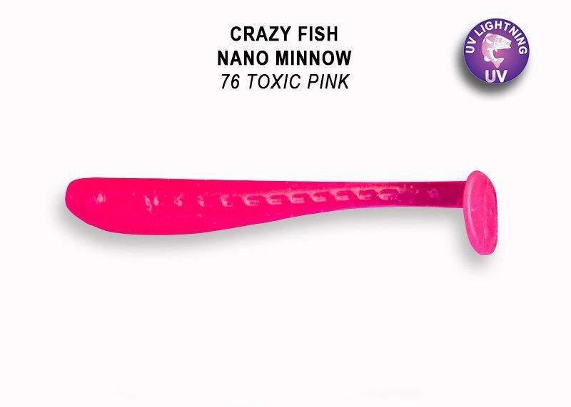 Nano Minnow 4 cm 76 toxic pink