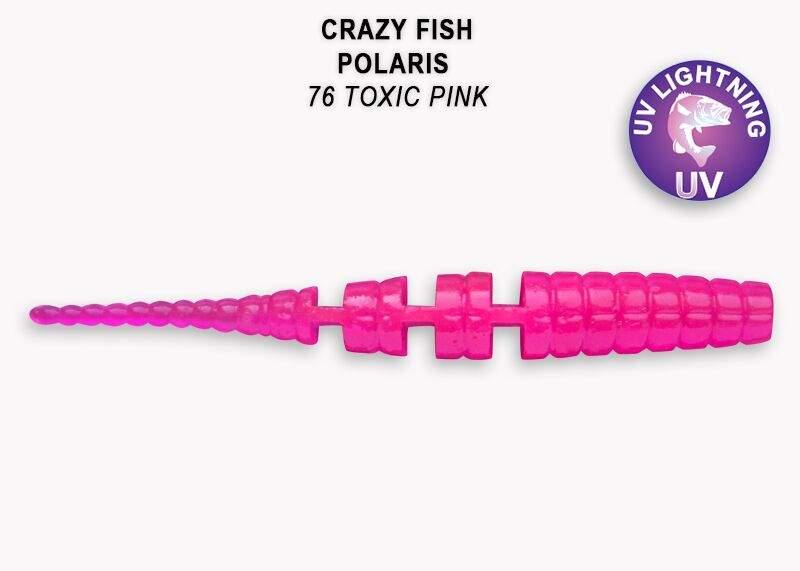 Polaris 4,5cm barva  76 toxic pink