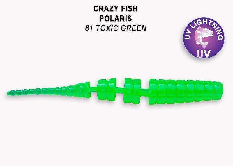 Polaris 4,5cm barva  81 toxic green