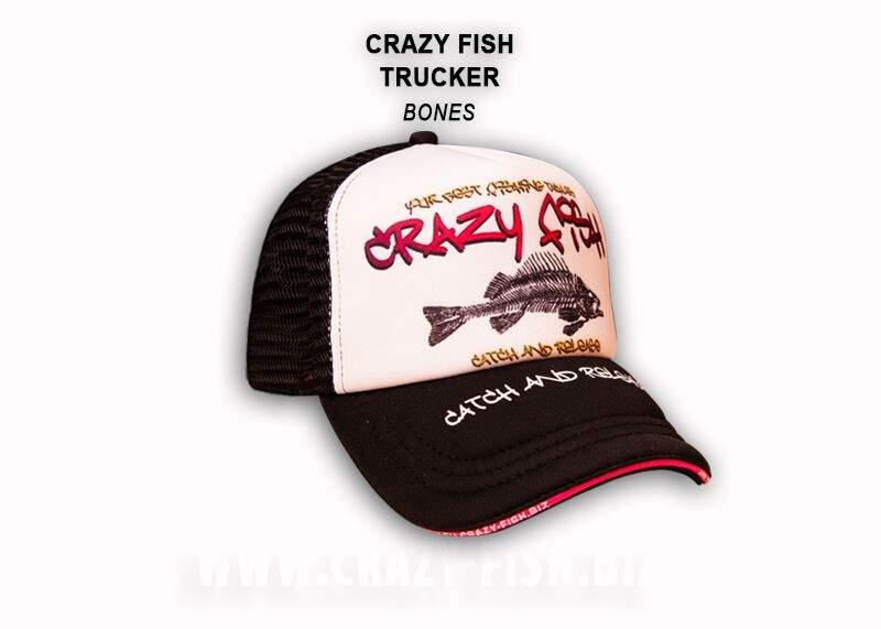 Čepice Crazy Fish Trucker