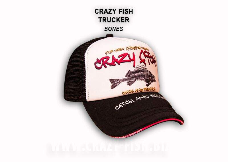 Čepice Crazy Fish Trucker