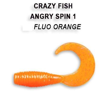 Angry spin 2,5cm barva 77 fluo orange
