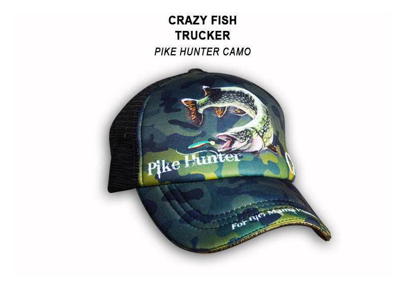 Čepice Crazy Pike Hunter Camo