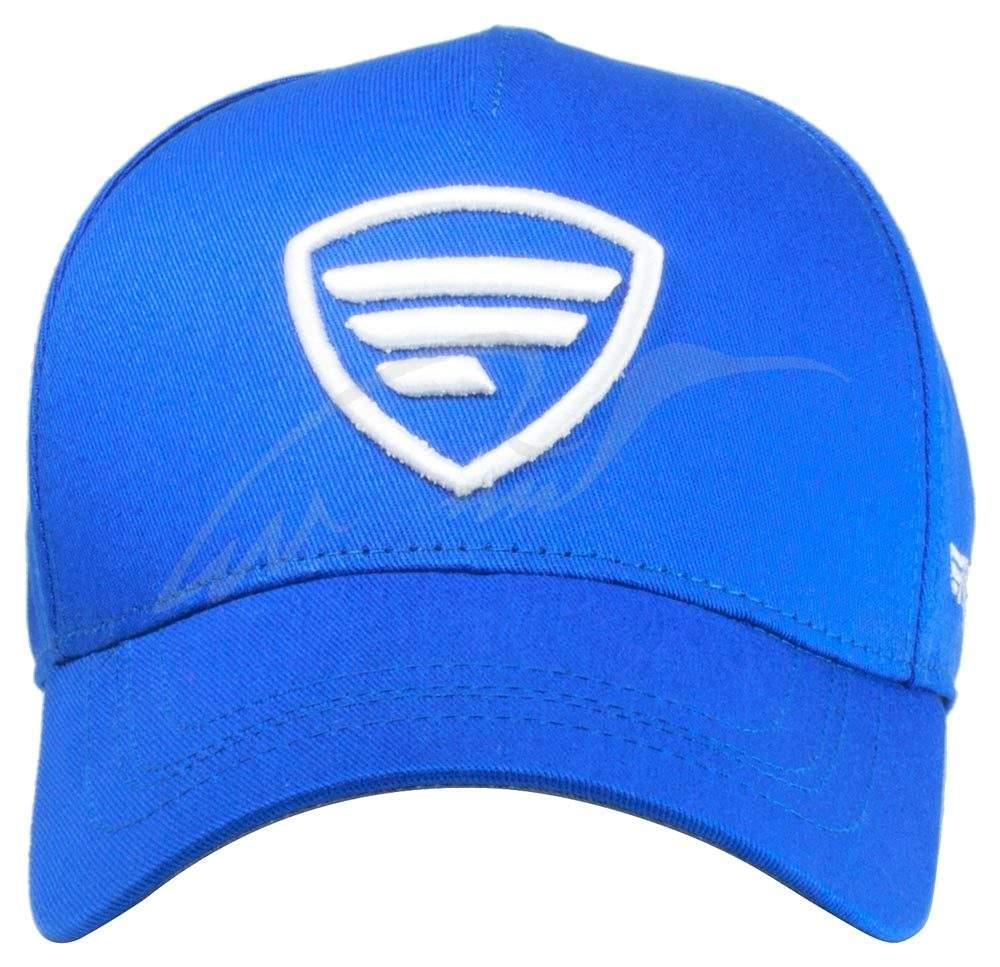Favorite modrá, bílé logo