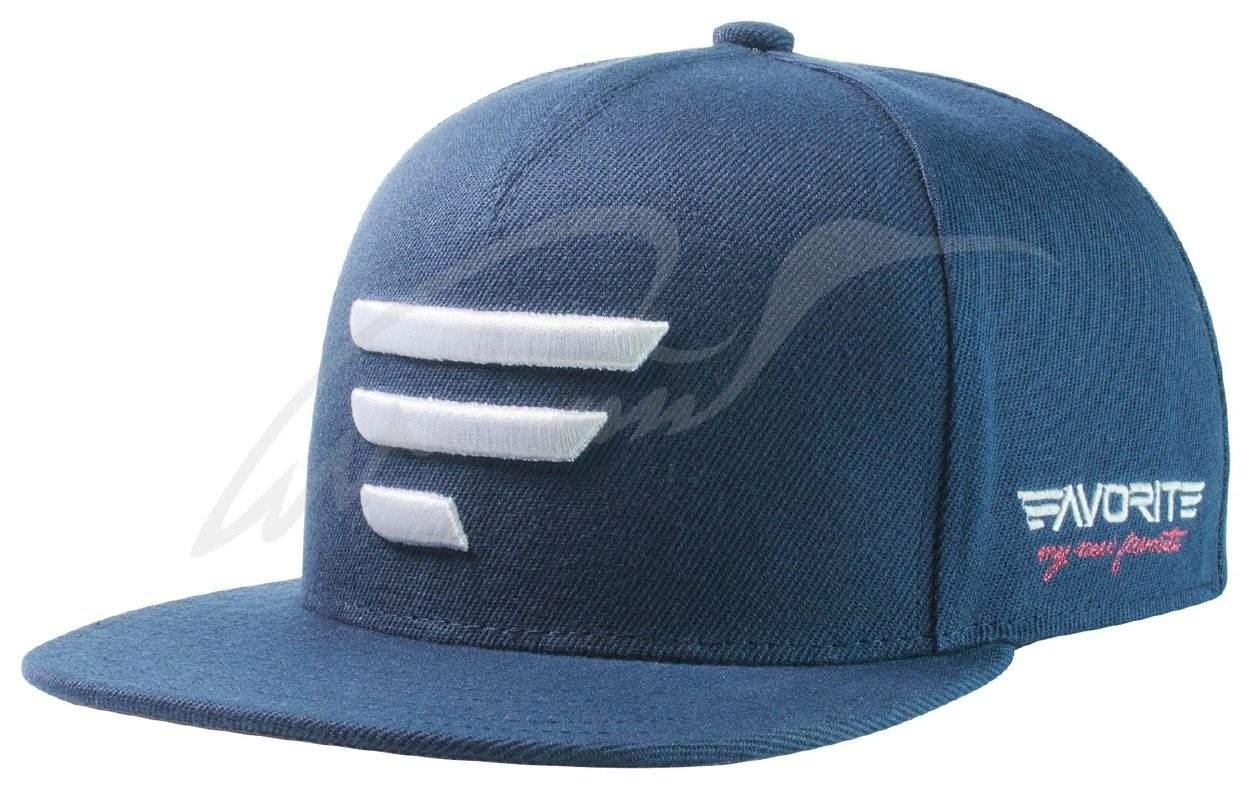 Čepice Favorite A Frame modrá, bílé logo