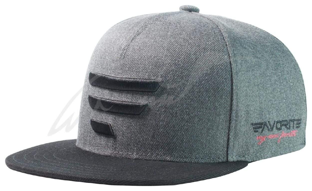 Čepice Favorite A Frame šedá, černé logo