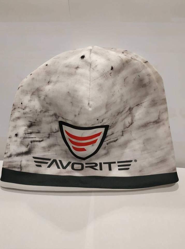 Čepice Favorite zimní bílá