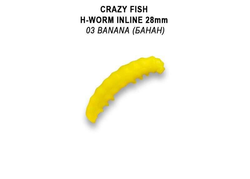 "MF H worm Inline 1,1"" 2,8 cm barva 3"