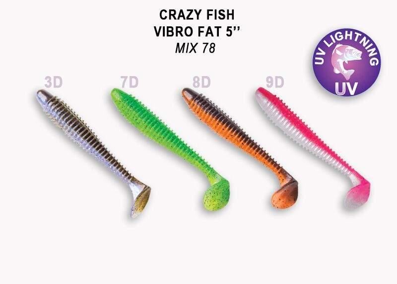 Vibro Fat 12cm mix M78