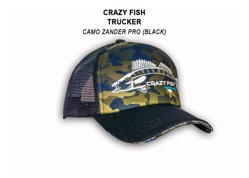 Čepice Crazy Fish Zander Pro Black