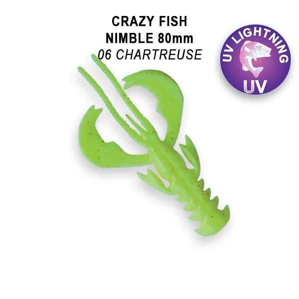 Nimble 8cm floating color 6 chartrouse
