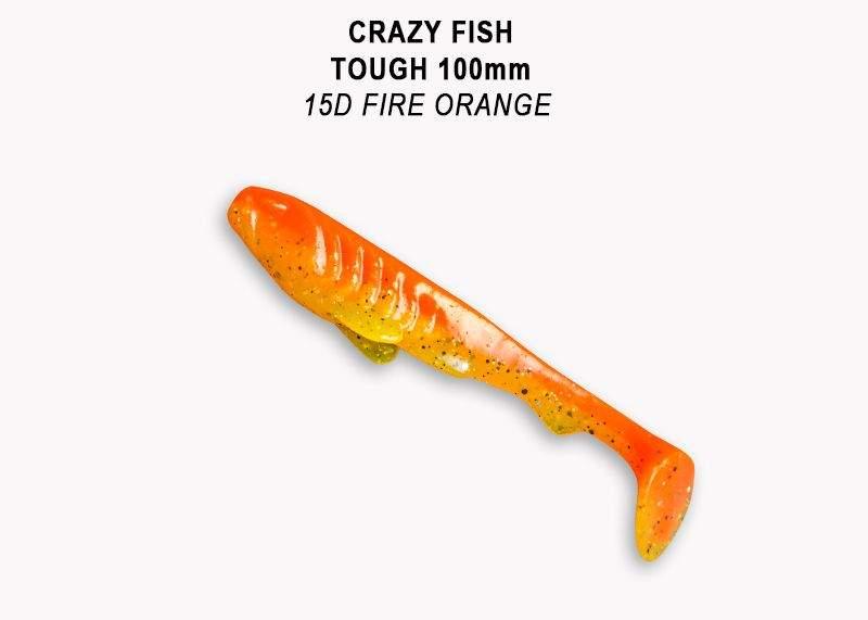 Tough 10cm barva 15D Fire Orange