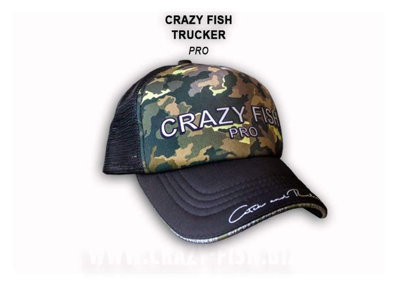 Čepice Crazy Fish Pro M